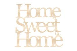 """""""Home sweet home """" en contreplaque peuplier"""