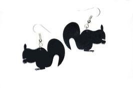 Boucles d'oreilles modèle écureuil