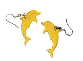 Boucles d'oreilles modèle dauphin