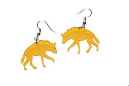 Boucles d'oreilles modèle hyène