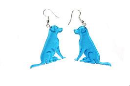 Boucles d'oreilles modèle chien