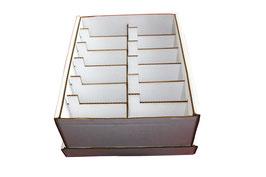 Boite rangement annuel graines casiers non gravés