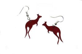Boucles d'oreilles modèle kangourou