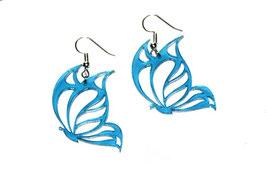 Boucles d'oreilles modèle papillons