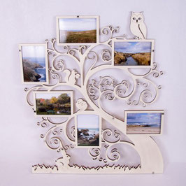 Cadre photo à offrir modèle 3 pour 6 photos de 15 cm x 10 cm