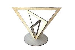 Arbre à bijoux modèle triangle
