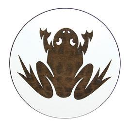 Dessous de verre  grenouille (modèle 27)