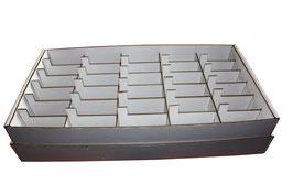 Boite rangement graines par ordre alphabétique casiers non gravés