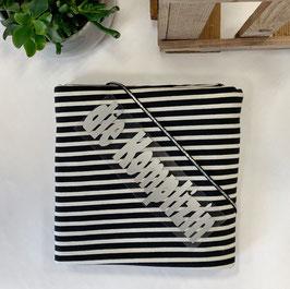 """Nähpaket Shirt """"Streifen Jersey schwarz-weiß"""""""