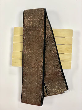 Bündchengummi schwarz gold