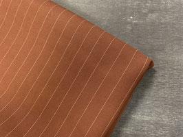 Stoffpaket Tencel Streifen braun