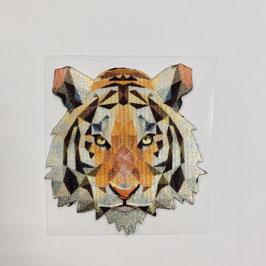 Bügelmotiv 'Tigerkopf' • klein