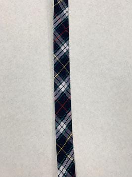 Schrägband blau Karo