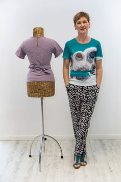 Schnittmuster 'Shirt mit Bindebändern'