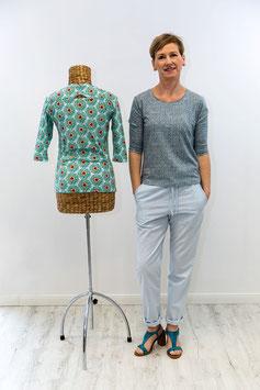 Schnittmuster 'Shirt mit Kräuselrücken'