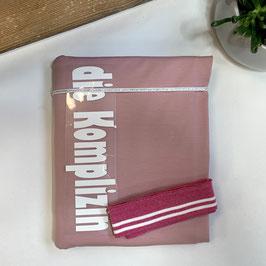 Nähpaket Shirt rosa weiß