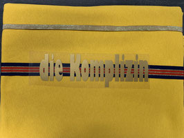 Nähpaket Sweatshirt gelb gold
