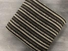 Stoffpaket Strick grau schwarz