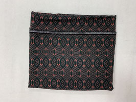 Nähpaket Blusenshirt schwarz rot