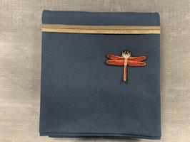 Nähpaket Shirt dunkelblau Libelle
