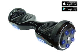 binnTec Hoverboard N2 blue shining LED´s mit Bluetooth und App Steuerung