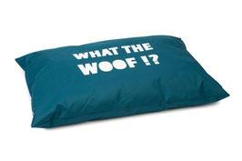 Hundekissen What the Woof