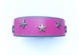 LEDERHALSBAND STARS