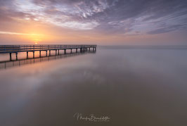 """JETTY UNDER SUNRISE"""
