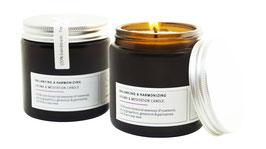 BALANCING & HARMONIZING Aromatherapie- & Meditationskerze aus reinem ECO-Sojawachs & 100 % puren botanischen Essenzen