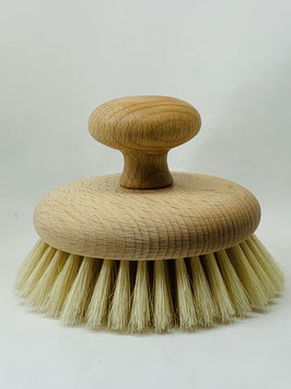 Körperbürste handgefertigt - geöltes Buchenholz