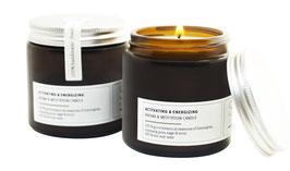 ACTIVATING & ENERGIZING Aromatherapie- & Meditationskerze aus reinem ECO-Sojawachs & 100 % puren botanischen Essenzen