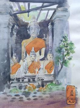 Temple supérieurdu Wat Phou