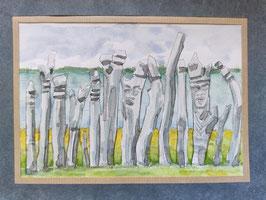 totems de Saint-Maurice