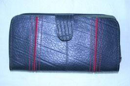 長財布(ブラック×レッド)