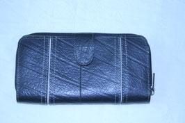 長財布(ブラック×ホワイト)