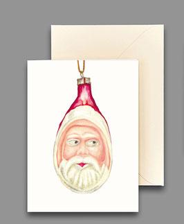 Weihnachtskarte Weihnachtsmann Artikelnr. kl406