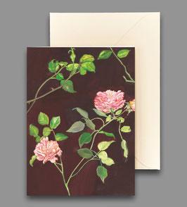 Grußkarte aus meinem Rosengarten Artikelnr. kl 258