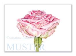 Kunstkarte Rose Artikelnr. sr101