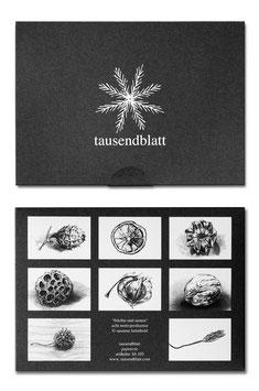 """Kartenbox """"Früchte und Samen"""" kb103"""
