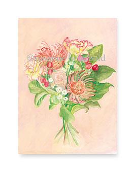 Minikarte Blumenstrauss, Artikelnr. mk021