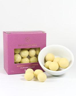 Piemont-Haselnüsse in weißer Schokolade - Nocciole Ricoperte Cioccolato bianco