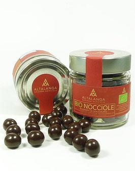 BIO-Haselnüsse in Zartbitter-Schokolade 120g
