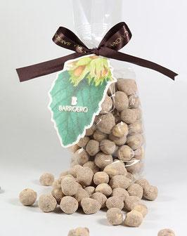 Geröstete Haselnüsse mit Zucker und Zimt - Nocciole Piemonte I.G.P. tostata zuccherata con Canella