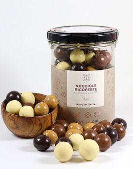 Piemont-Haselnüsse in Schokolade - Nocciole Ricoperte Mix