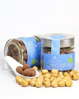 Schokolierte BIO-Haselnüsse (Vollmilch) - BIO-Nocciole ricoperte di Cioccolato al Latte 120g