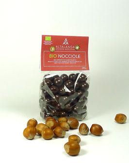 BIO-Haselnüsse in Zartbitter-Schokolade 200g