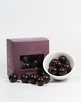 Piemont-Haselnüsse in Zartbitterschokolade - Nocciole Ricoperta Fondente 110g