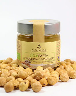 Haselnussmus BIO, BIO Pasta di Nocciola Piemonte IGP 100% 190g