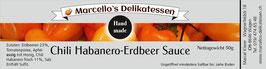 Marcello's Chili Habanero-Erdbeer Sauce