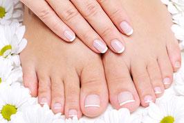 Fußpflege mit Nagellack